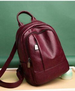 Túi xách - T hiết Kế Chất Liệu Da Cao Cấp Mềm Mịn - Thời Trang Hiệu Túi Xách Túi Nữ Du Lịch Mochilas Mujer Backbags -TX64D