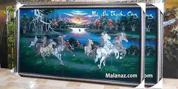Tranh sơn mài Mã Đáo Thành Công MDKD01 - small