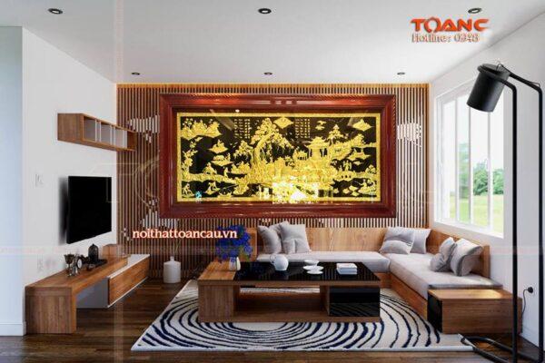 Mua tranh tặng khai trương - Tranh đồng quê TDDQ02 Malanaz Shopping