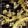 Tranh tặng tân gia – Tranh sơn mài tùng hạc diêm niên – NCD4T02 - Malanaz shopping - sale