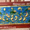Tranh đồng nghệ thuật - Tranh đồng quần ngư hội tụ - QN01- 01- A