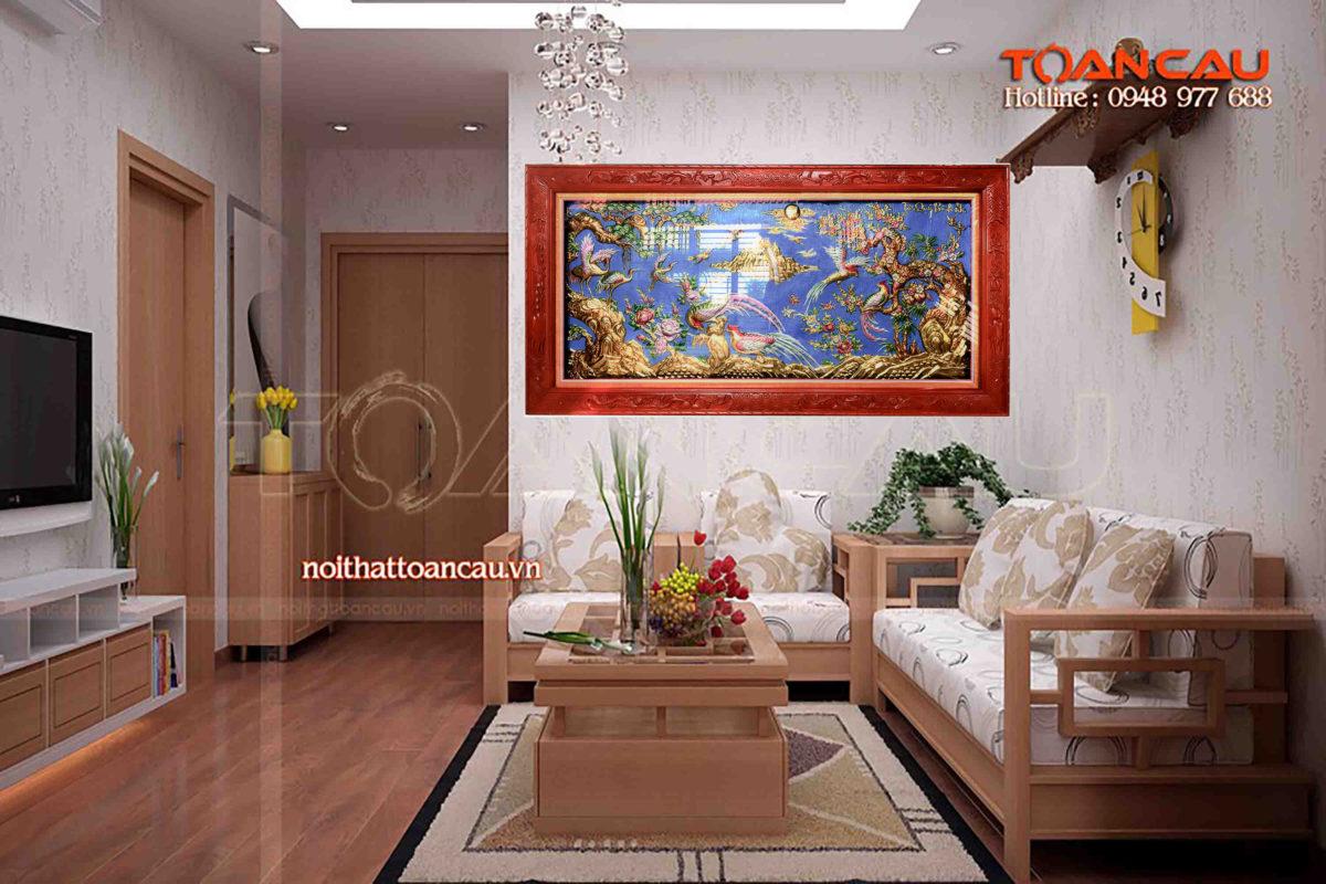 Tranh đồng tứ quý bình an - TQ01 Malanaz Shopping