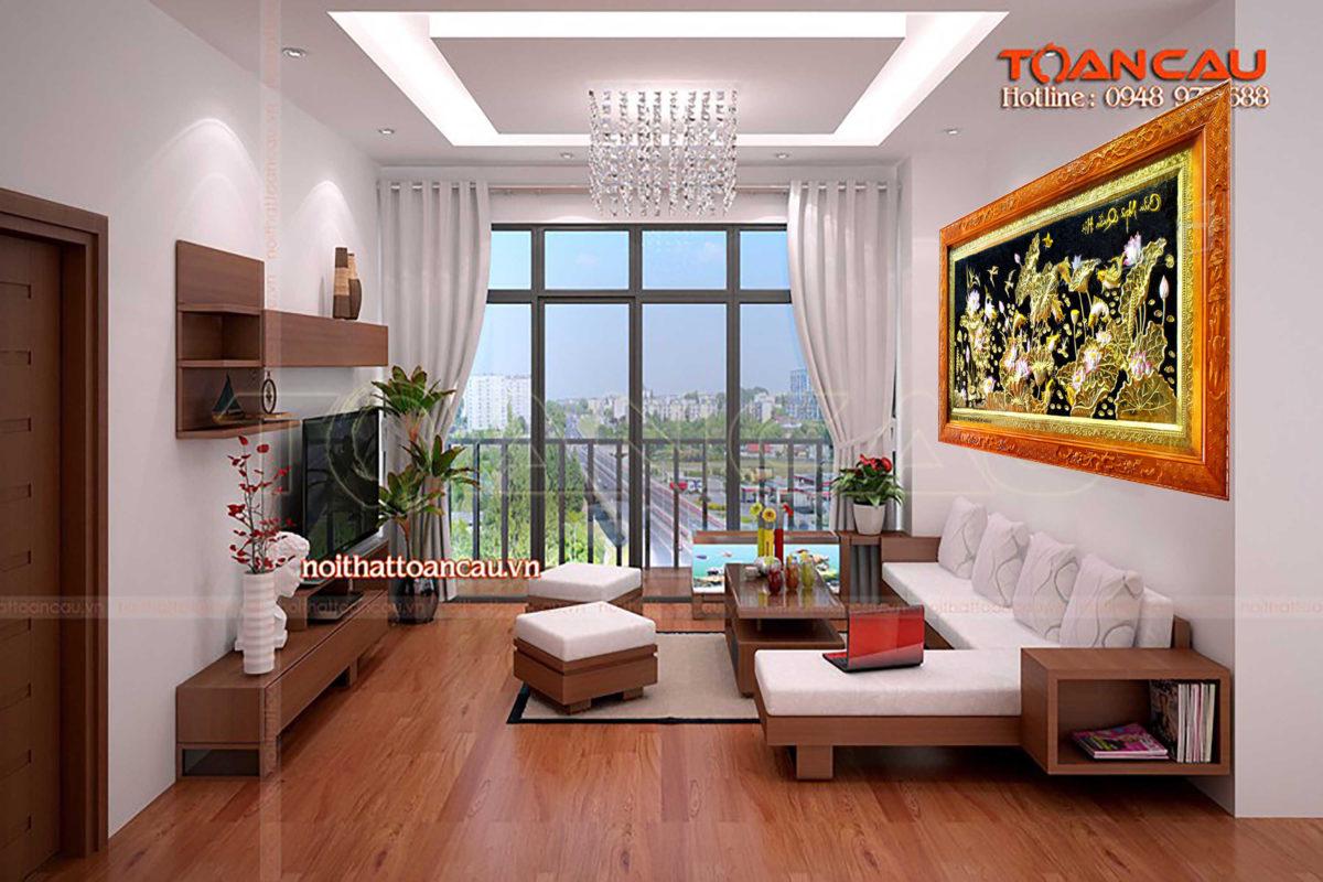 Tranh đồng tphcm - Tranh đồng quần ngư hội tụ - QN03 - Malanaz shopping sale off 50 %