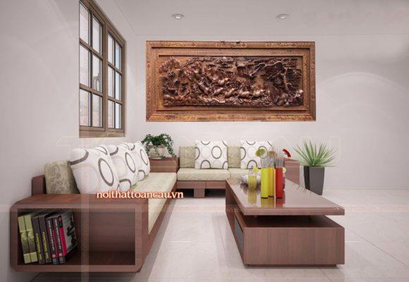 Tranh gỗ mã đáo thành công MD01 AB