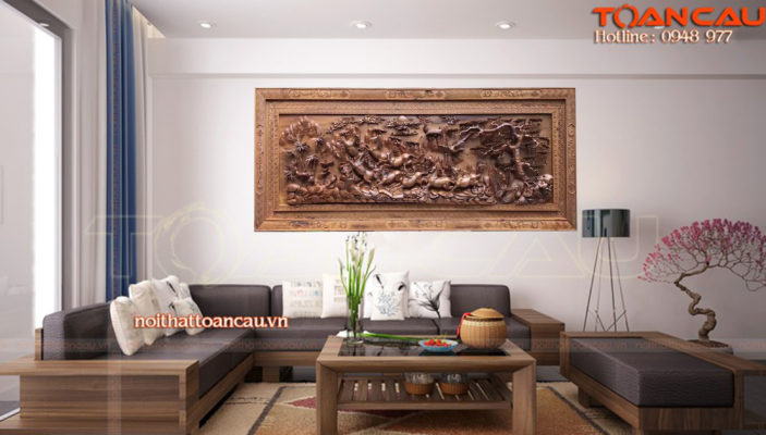 Tranh gỗ mã đáo thành công MD01 - Malanaz.com sale off 30% giao hàng