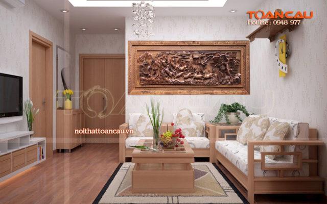 Tranh gỗ mã đáo thành công MD01 - Malanaz.com sale off 30% giao hàng trên toàn quốc