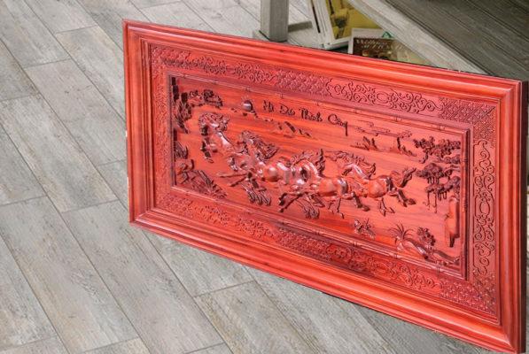 Tranh gỗ đẹp - Tranh gỗ mã đáo MD03 - Malanaz.com