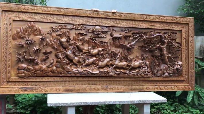 Tranh gỗ mã đáo thành công MD01 - Malanaz.com sale