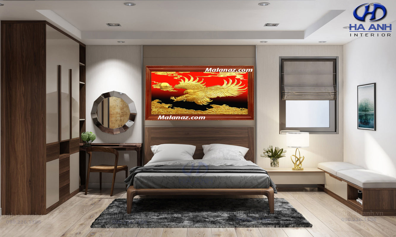 Tranh đồng cao cấp - tranh đại bàng - Malanaz.com sale off 50%