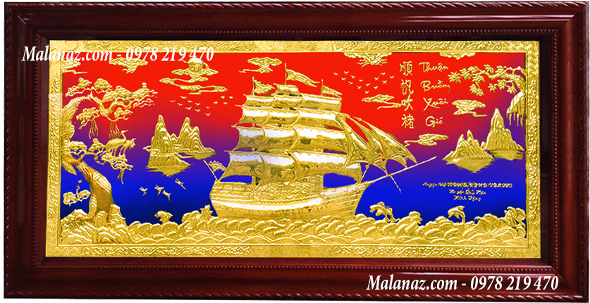 Tranh tân gia tphcm - Tranh đồng thuận buồm xuôi gió - TB07-AB - Malanaz shopping sale off 50% - giao hàng toàn quốc.