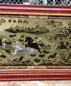 Tranh đồng tại Hà Nội - Tranh mã đáo thành công TMD13A