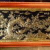 Tranh đồng trang trí phòng khách - Tranh đồng vinh hoa phú quý – VH08 - A