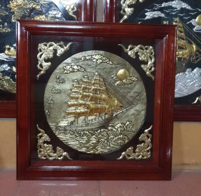 Tranh đồng cao cấp - Tranh đồng bộ ba 80 x 80 cm - B01A - Malanaz Shopping Sale off 30% - Giao hàng toàn quốc