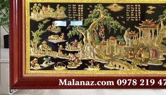 Tranh đồng treo phòng khách - Malanaz Shopping sale off 30%