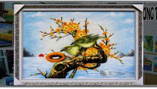 Tranh sơn dầu tặng sinh nhật - SSN01 A