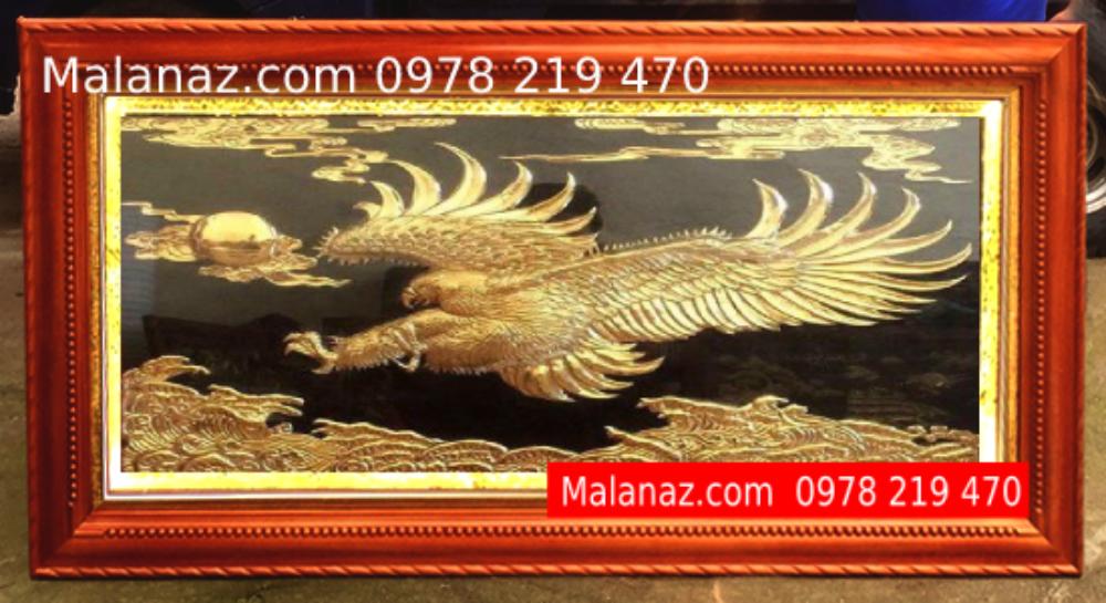 Tranh đồng cao cấp - tranh Đại Bàng Tung Cánh - DDB01