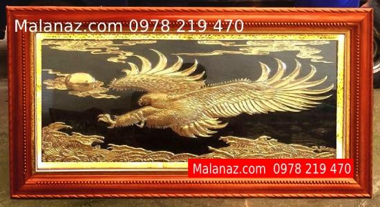 Tranh đồng cao cấp - tranh Đại Bàng Tung Cánh - DDB01A