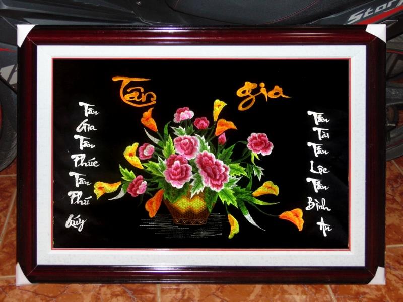 Tranh thêu tay - TLH02