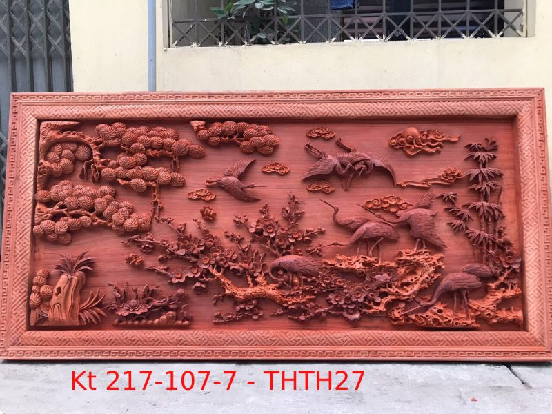 Tranh gỗ cao cấp Kt 217-107-7 -THTH27A