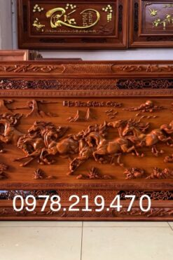 Mua tranh gỗ tphcm - Tranh gỗ mã đáo thành công - NQMD07 (1)