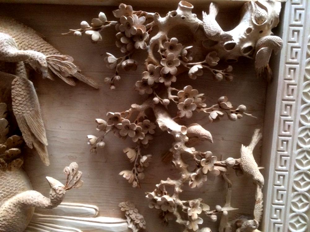 Tranh gỗ cao cấp - Phu thê  viên mãn  - Malanaz Cung Cấp