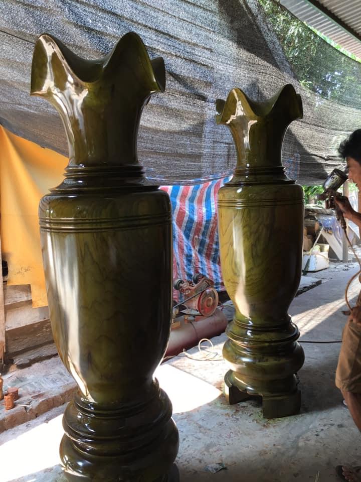 Lục bình gỗ dổi Kt 1m8 rộng 50cm - GK 27 (1)