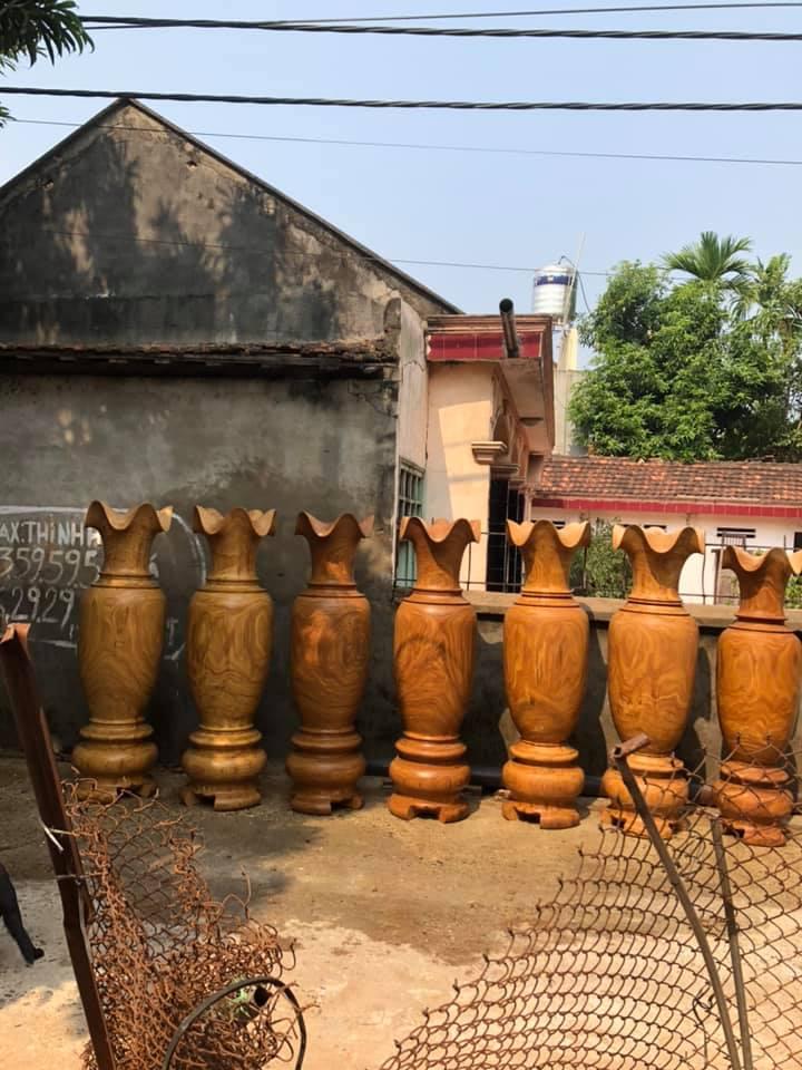 Lục bình gỗ hương - KT 197 x 60 cm - TM 35 Malanaz shopping