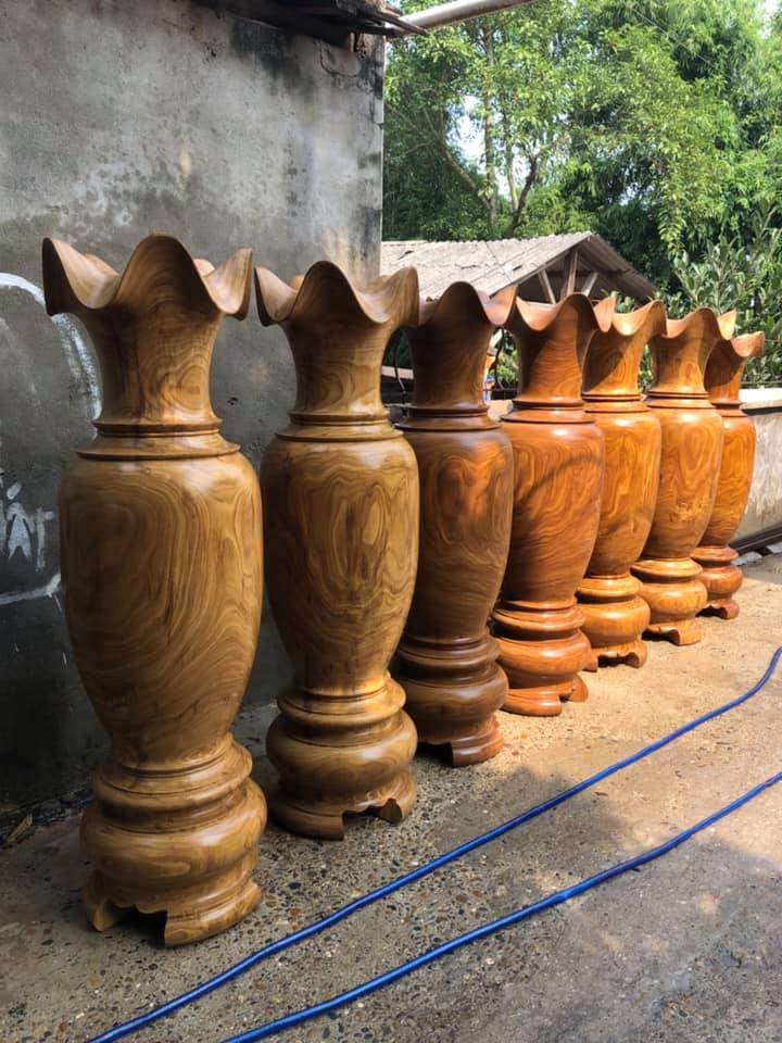 Lục bình gỗ hương - KT 197 x 60 cm - TM 35A giá tốt
