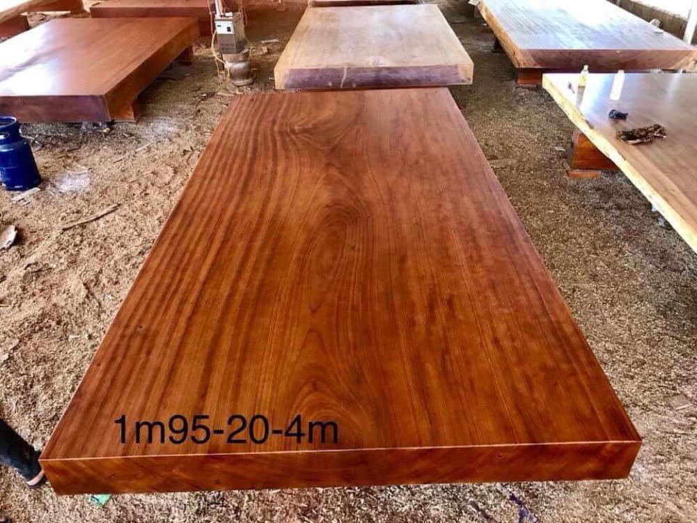 Sập chiếu ngựa gỗ gõ - 195 x 400 x 20cm NL200 Malanaz cung cấp