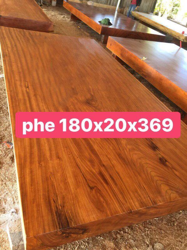 Sập gố cao cấp - gỗ cẩm hồng - 180 x 20 x 369cm - NL95 (2