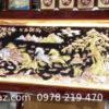 Báo giá tranh đồng - Tranh đồng đỏ dát vàng, bạc - DMD19