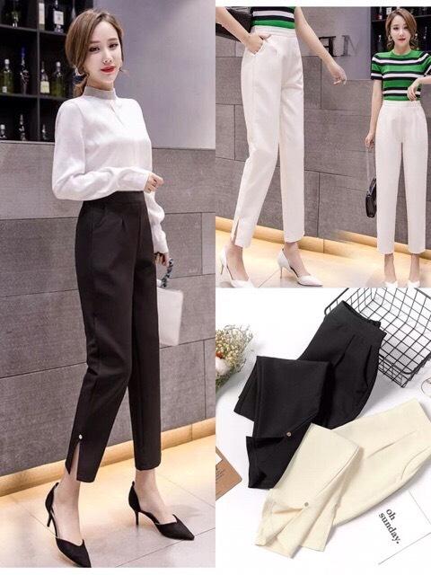 Quần tây nữ thời trang công sở Hà Nội – STO5 – shop.caravax.com