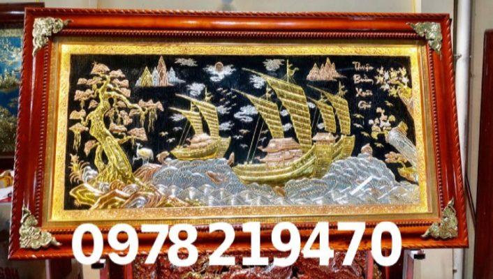 Tranh đồng cao cấp TPHCM - Tranh thuận buồm - DTB 23A