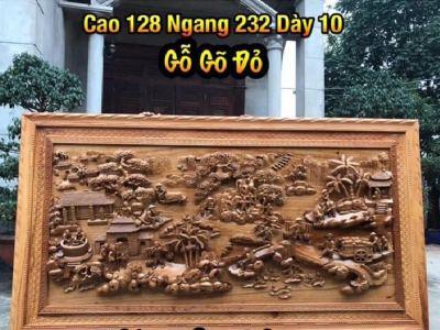 Báo giá tranh gỗ - tranh gỗ cao cấp - Tranh phu thê viên mãn - DB24 (1)