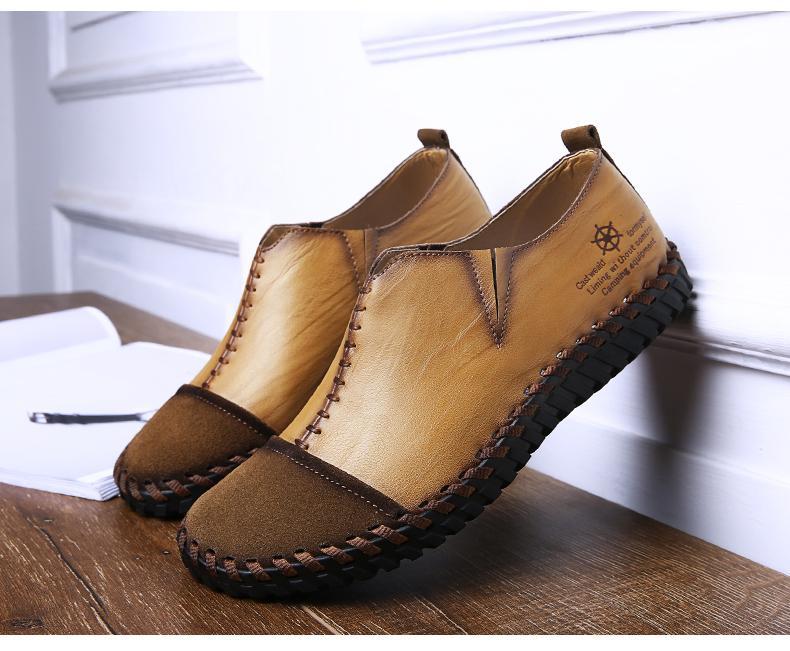 giầy lười nam nhập khẩu