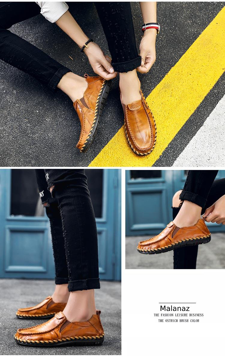 Giày da cao cấp - Giày da nam thời trang