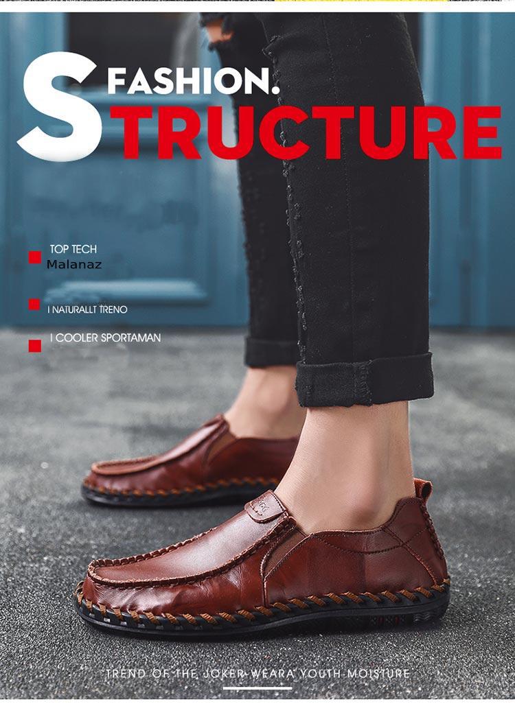 giày da nam hàng hiệu - Malanaz