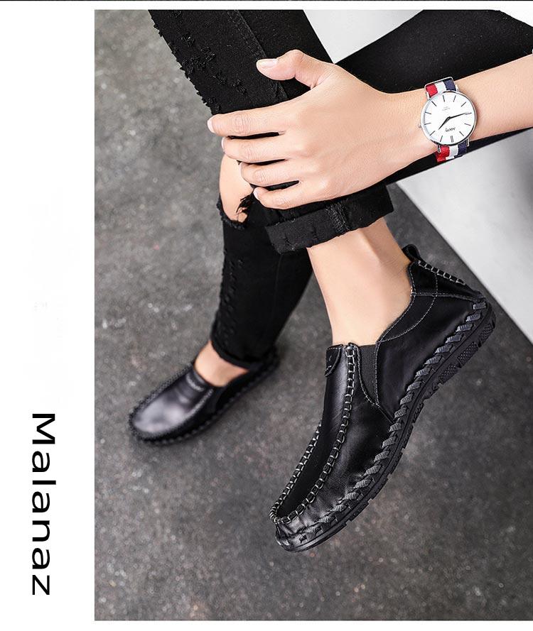 giày da nam hàng hiệu - Malanaz cung cấp