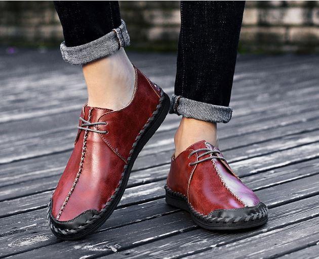 GIÀY NAM LƯỜI TPHCM - GD24C - mua giày da nam