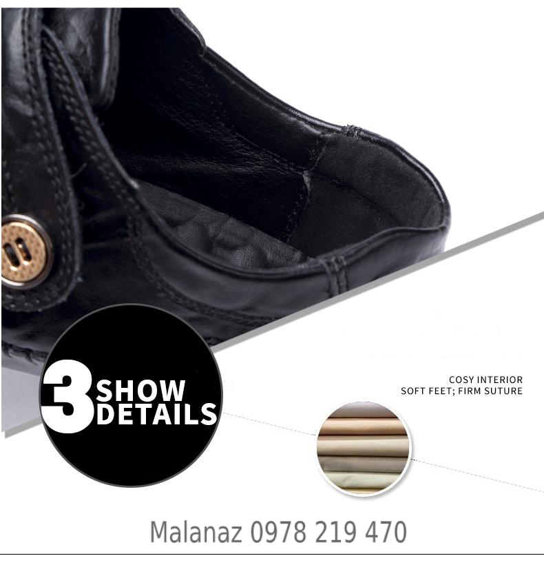 GIÀY TÂY NAM CAO CẤP - GD10 - Malanaz Shopping