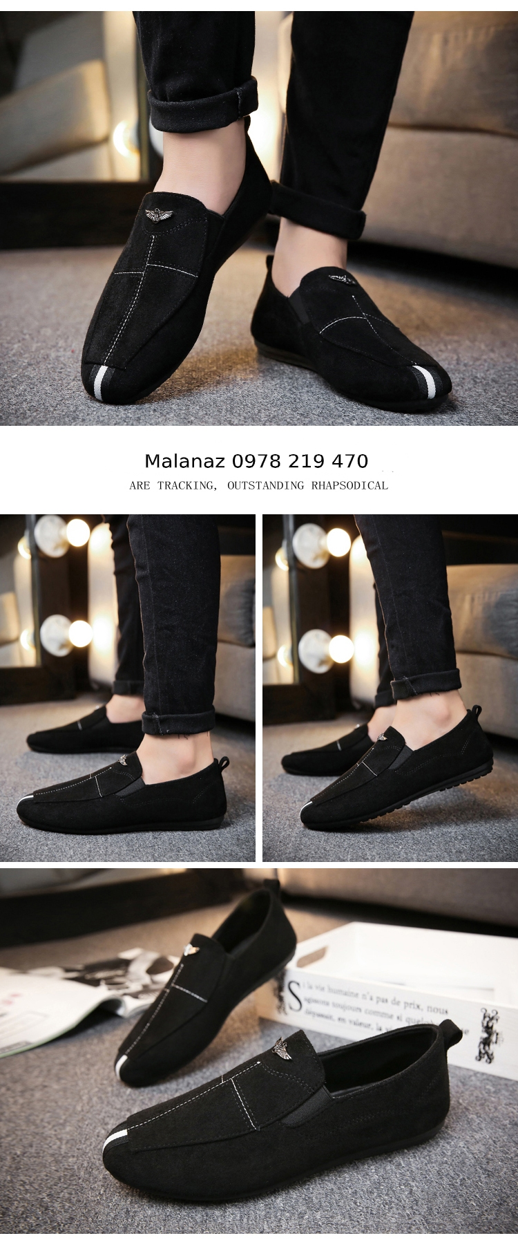 GIÀY DA NAM CÔNG SỞ - GD09 Malanaz Shopping Giao hàng toàn quốc - Giá tốt