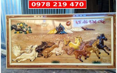Tranh gỗ nghệ thuật - tranh gỗ phong thủy - DL04A