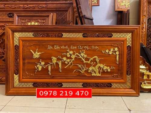 Tranh gỗ treo phòng khách KT 197x97x4 - NQVH