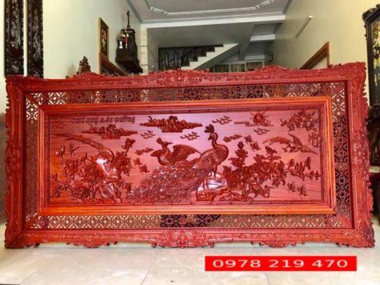 TRANH GỖ ĐỤC TAY - KT 237 x117 x 4cm - PH