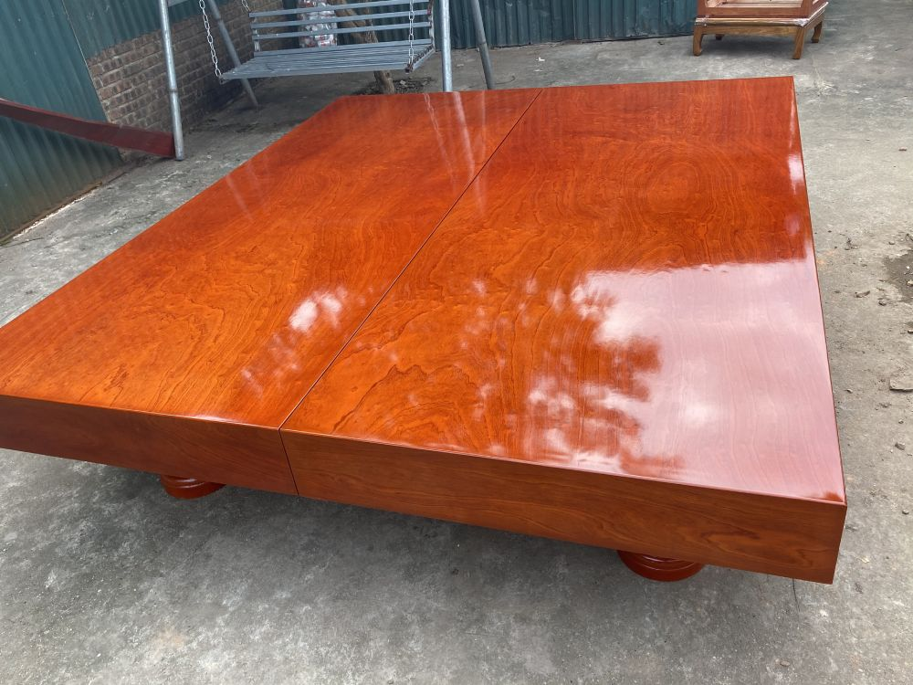 Sập gỗ xoan đào - 220x240x20 - BA 01 - Malanaz Shopping Giá tốt nhất
