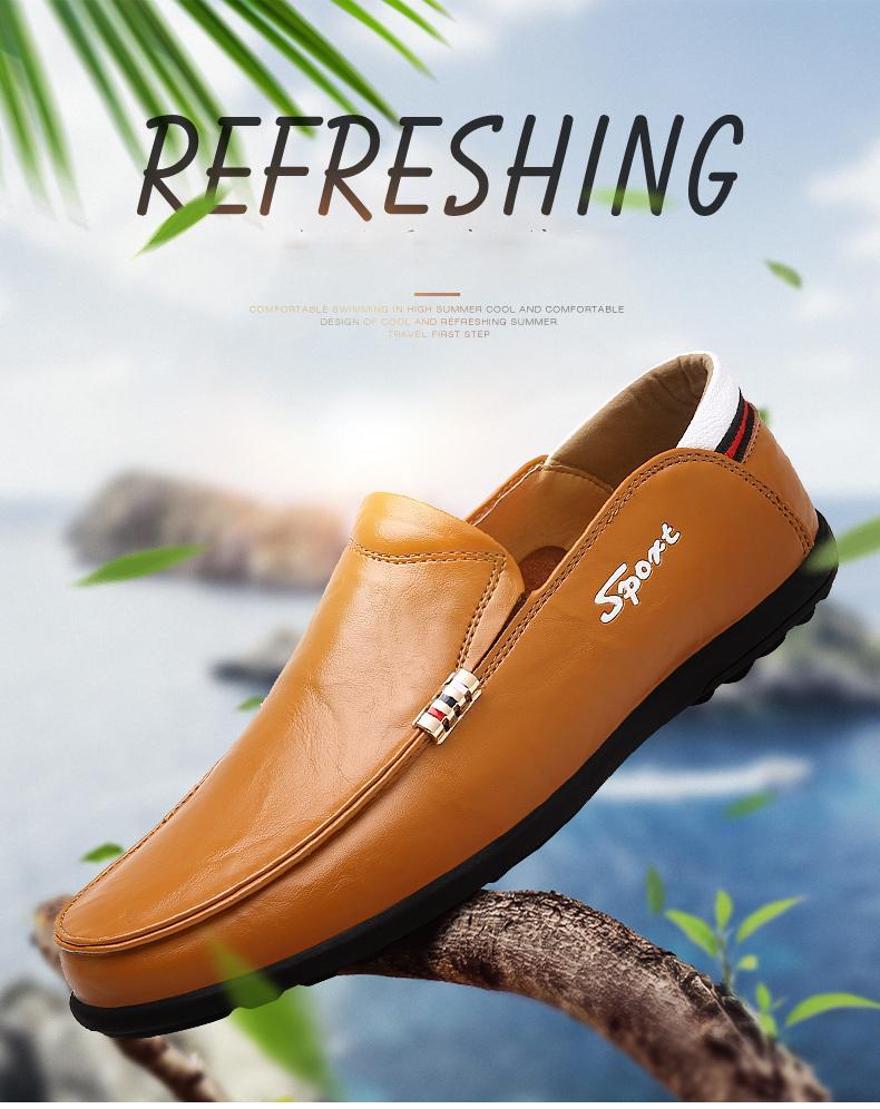 Giày lười nam công sở - GD47W