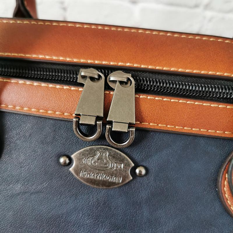 Túi Da cho Nữ Vintage Cao Cấp Túi Xách Da Thật Nữ Túi - TX29 - 13