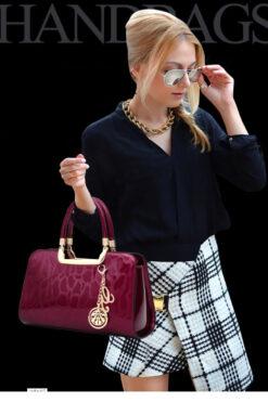Túi xách da nữ công sở - Túi xách thời trang - TX11D