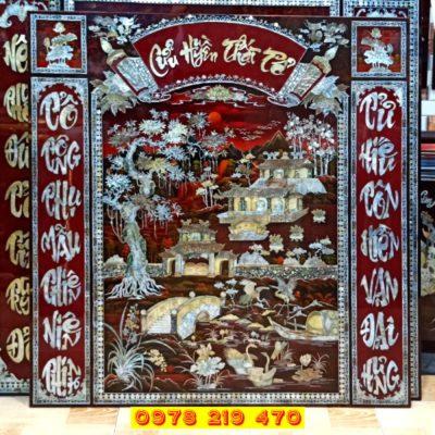 Tranh Cửu huyền thất tổ - tranh thờ - MD31