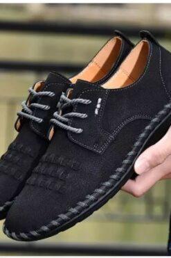 Giày Da cao cấp sang trọng - Giày khâu tay - giayd lười nam hàng nhập khẩu - GD38D